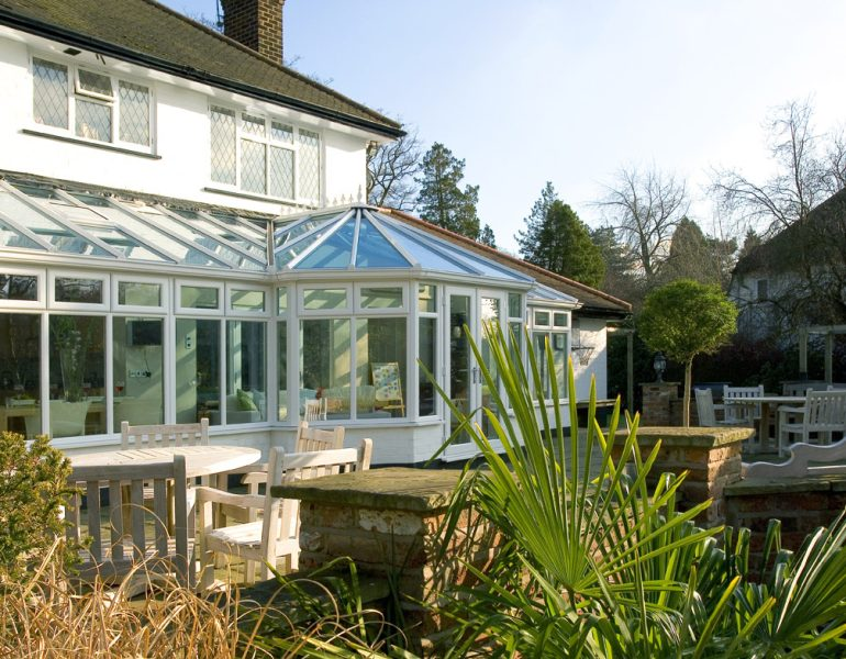 Conservatory roof glass
