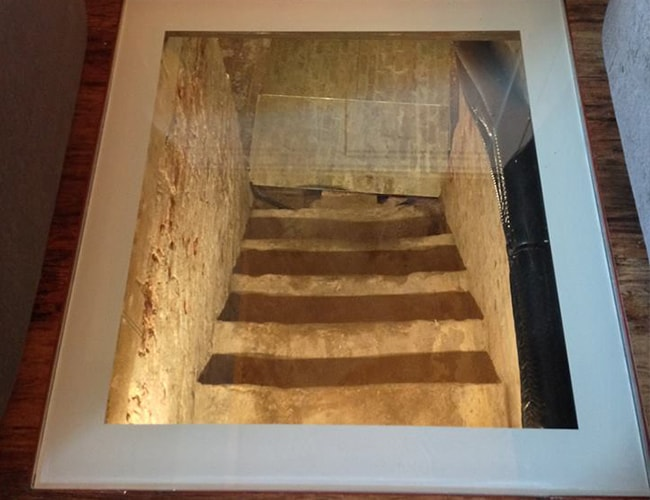 fire rated glass walkon to cellar entrance