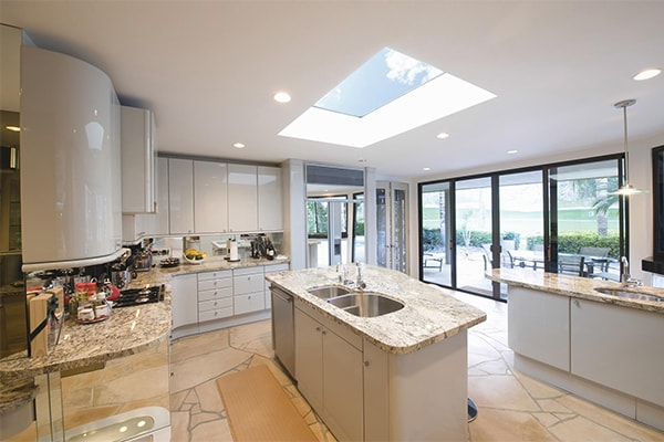kitchen fixed rooflight