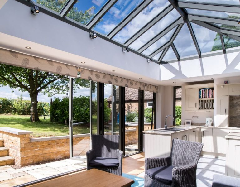 orangery/conservatory roof glass