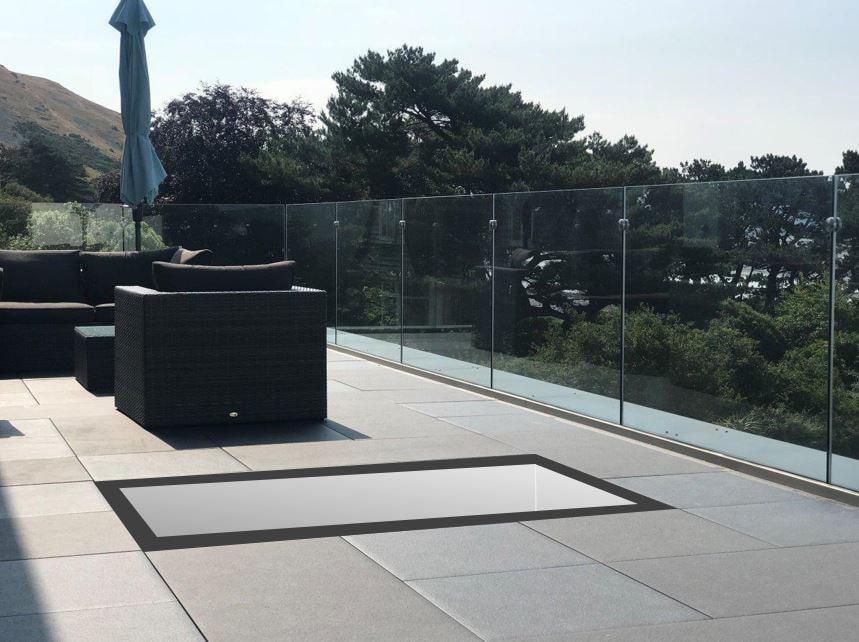 Thermal Walk on Rooflights   Tuffx Glass
