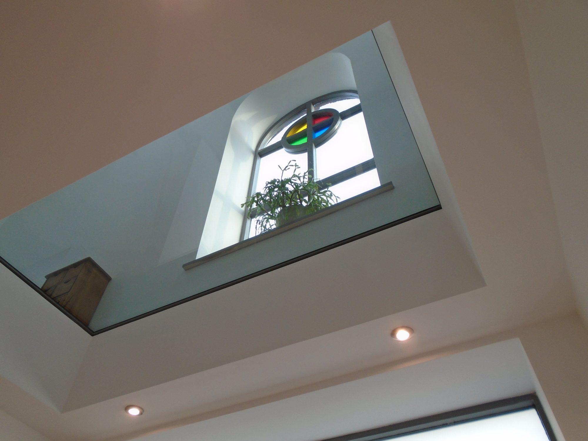 Walk on Glass panel in a Chapel